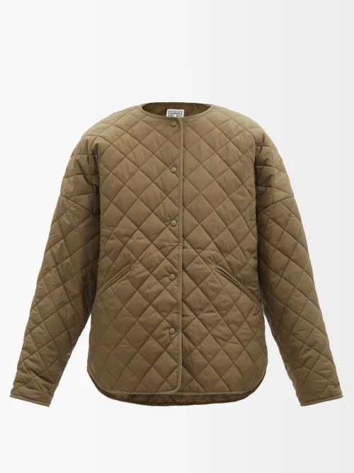 Erdem - Lindle Flocked Polka Dot Tulle Skirt - Womens - Black