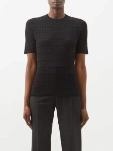 A.p.c. - Murano Print Cotton Dress - Womens - Navy Multi
