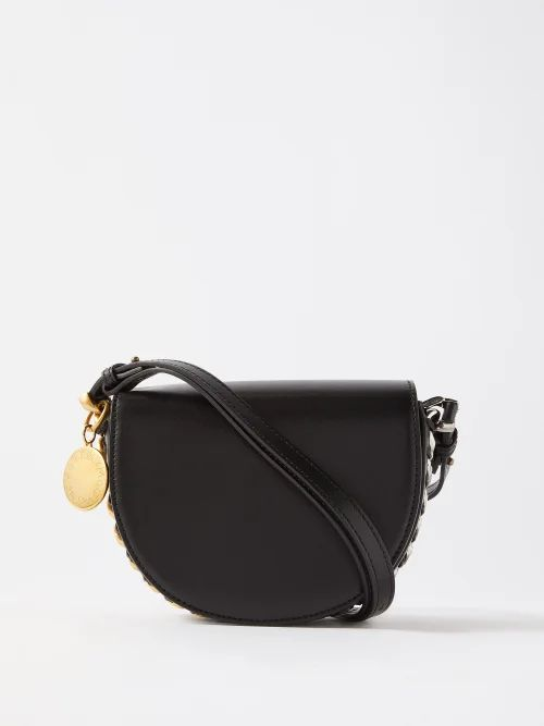 Rodarte - Floral Print Ruffled Silk Blend Skirt - Womens - Black Multi