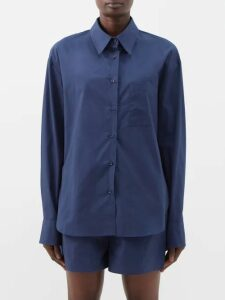Balmain - High Rise Tweed Wrap Skirt - Womens - Silver