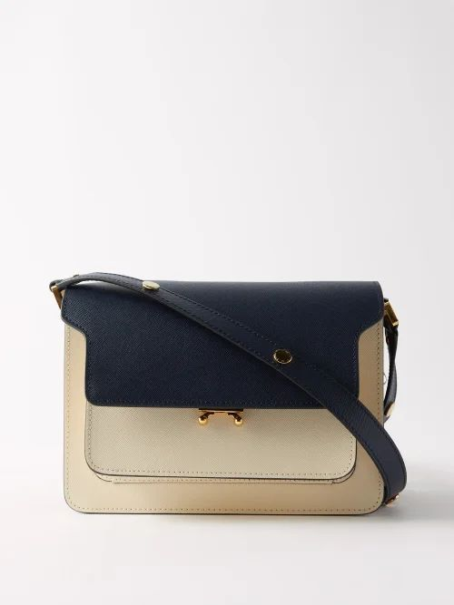Lemaire - High Rise Pleated Waist Denim Skirt - Womens - Ivory