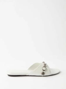 Vita Kin - Broderie Anglaise Linen Dress - Womens - Orange