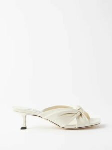 Giuliva Heritage Collection - The Stella Double Breasted Wool Blazer - Womens - Brown