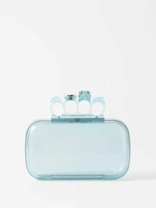 Giuliva Heritage Collection - The Stella Double Breasted Striped Wool Blazer - Womens - Green Multi