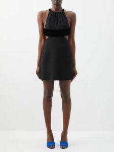 Chopova Lowena - Pleated Tapestry Wool Blend Midi Skirt - Womens - Multi