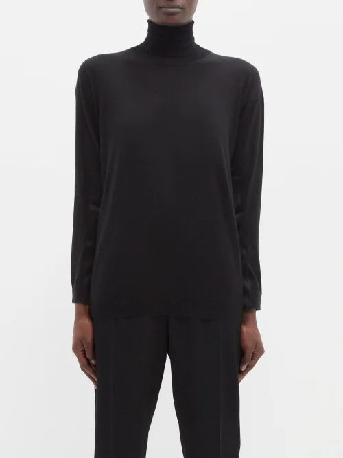 The Row - Margaux 10 Leather Bag - Womens - Light Tan
