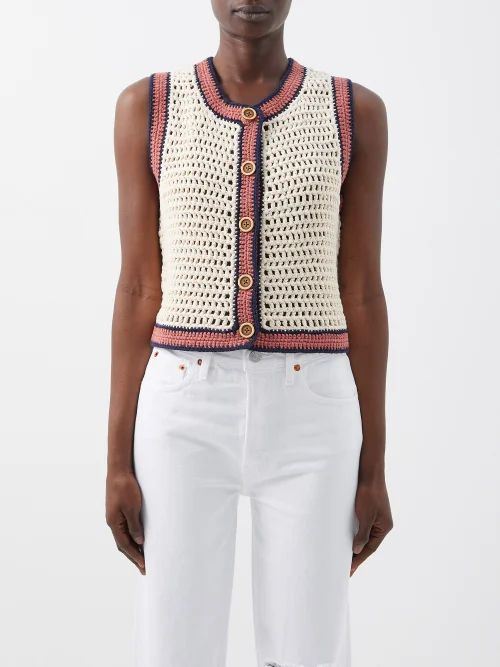 The Attico - Ostrich Feather Embellished Crepe Pouch - Womens - Light Pink