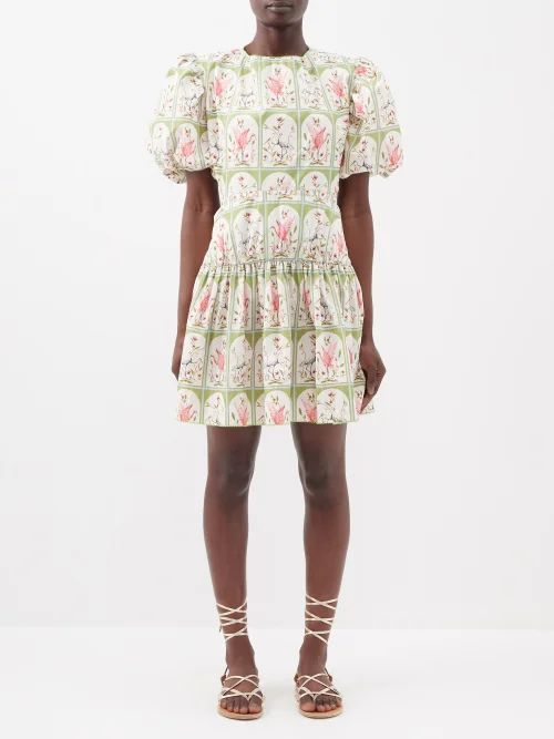 Valentino - V Ring Small Leather Cross Body Bag - Womens - Red