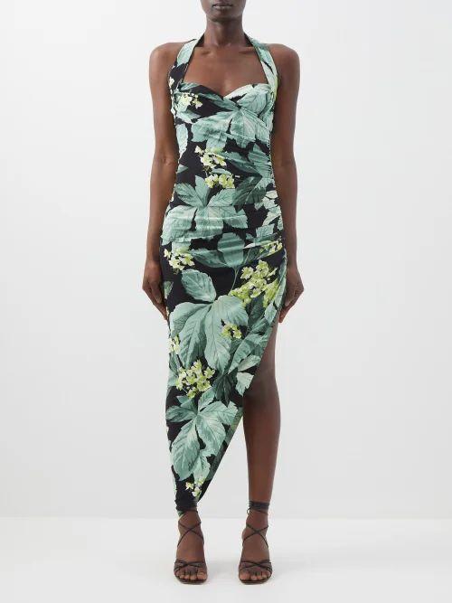 Valentino - Go Logo Large Leather Tote Bag - Womens - Black