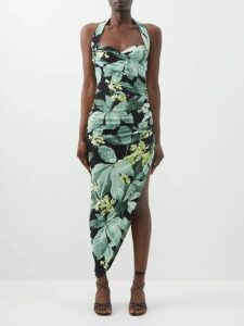 Valentino - Go Logo Large Leather Tote Bag - Womens - Black
