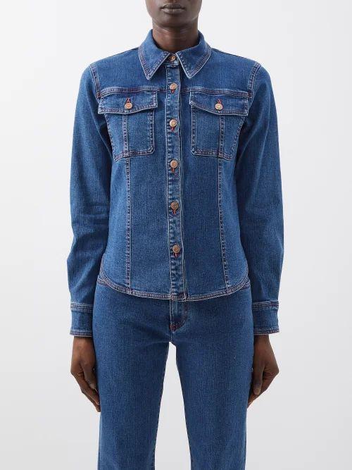 Valentino - Go Logo Small Leather Shoulder Bag - Womens - Black