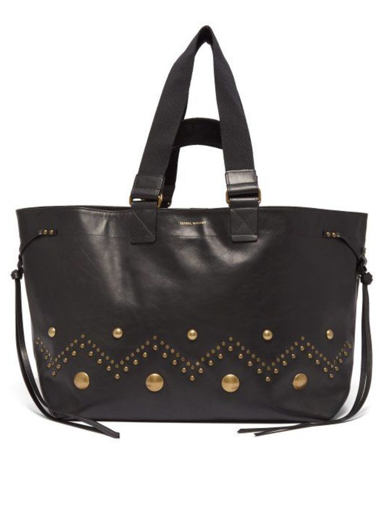 Isabel Marant - Wardy Leather Tote - Womens - Black