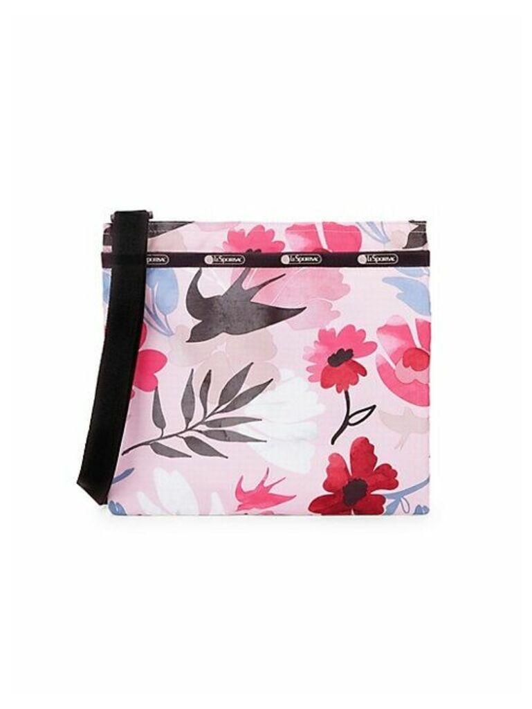Madison Slim Sparrow Print Crossbody Bag