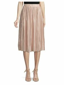 Plisse A-Line Skirt