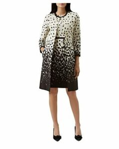 Hobbs London Arabella Printed Coat