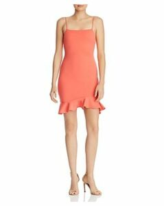 Sunset + Spring Ruffle-Hem Body-Con Dress - 100% Exclusive