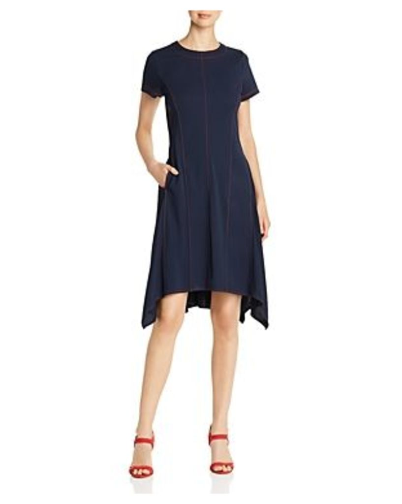 Dkny Seamed Fit-and-Flare Dress