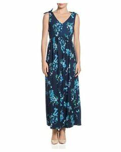 T Tahari Floral-Printed Maxi Dress