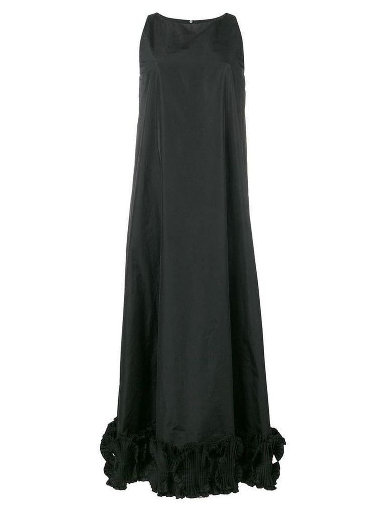 Max Mara flared long dress - Black