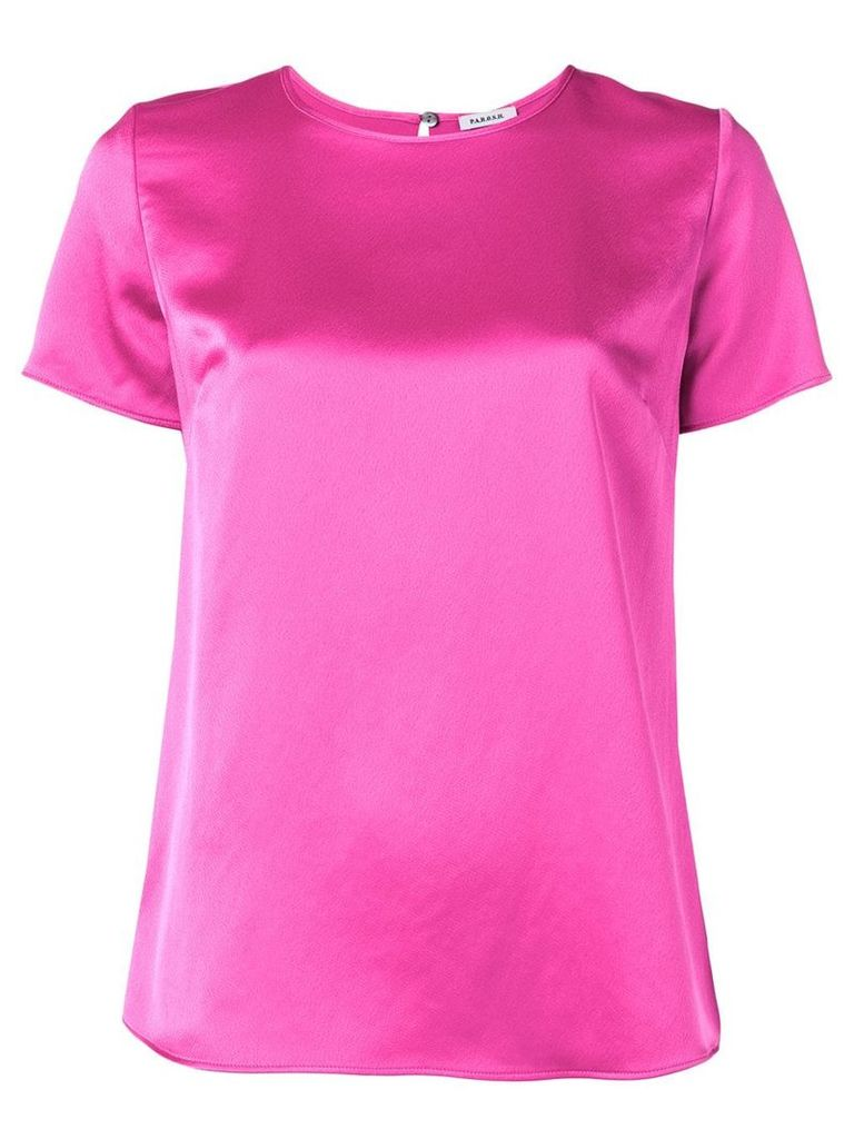 P.A.R.O.S.H. shortsleeved blouse - Pink