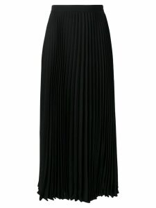 Valentino pleated midi skirt - Black