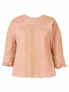 Vanessa Bruno lace work blouse - Pink