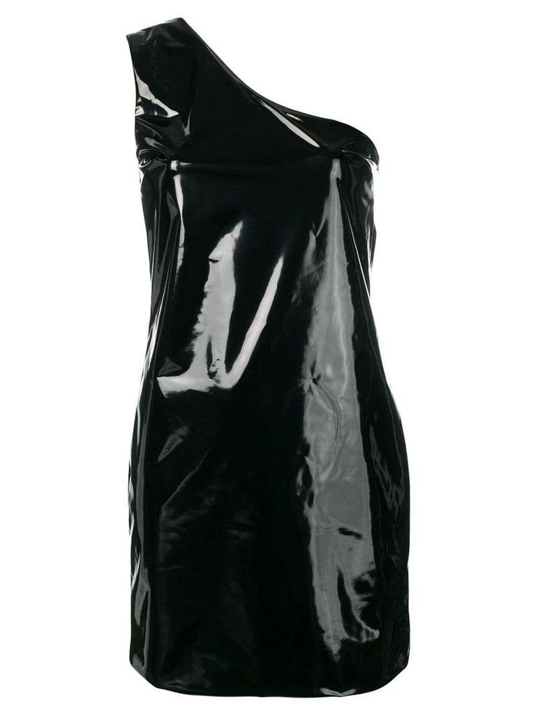 Federica Tosi one-shoulder mini dress - Black