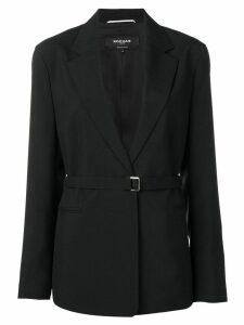 Rochas belted blazer - Black
