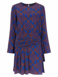 Andrea Marques silk printed dress - Multicolour