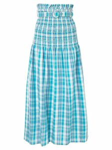 Nicholas Smocked skirt - Blue