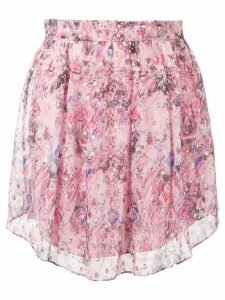 Iro printed A-line skirt - Pink