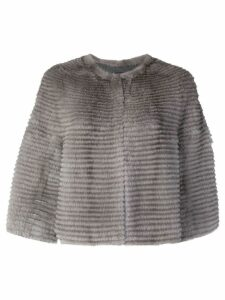 Liska Lutecia fur coat - Grey