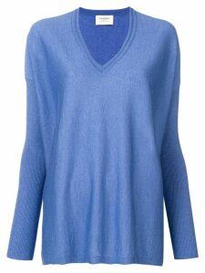 Snobby Sheep v-neck jumper - Blue