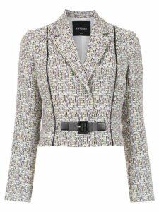 Tufi Duek wrap style jacket - Multicolour