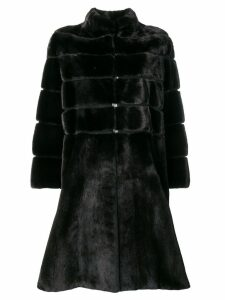 Liska Beth single-breasted coat - Black