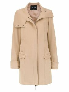 Tufi Duek asymmetric coat - Neutrals