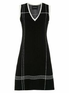 Tufi Duek short knitted dress - Black