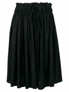 Jil Sander Navy elasticated waist skirt - Black