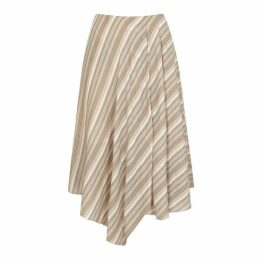 Acne Studios Striped Cotton Voile Skirt
