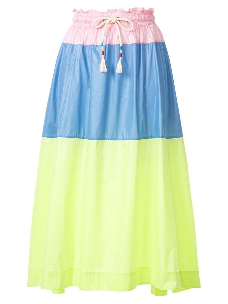 Mira Mikati colour block skirt - Multicolour