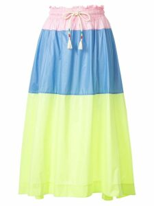 Mira Mikati colour block skirt - Multicolour