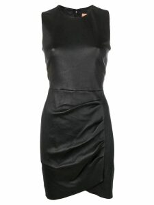 Yves Salomon leather dress - Black