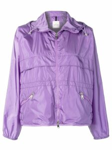 Moncler hooded jacket - Purple