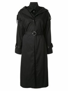 Boyarovskaya belted trench coat - Black