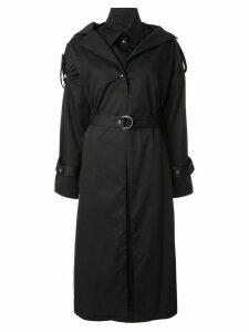 Boyarovskaya belted trench coat - Black
