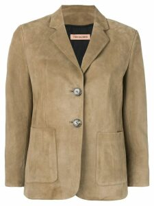 Yves Salomon single breasted blazer - Neutrals
