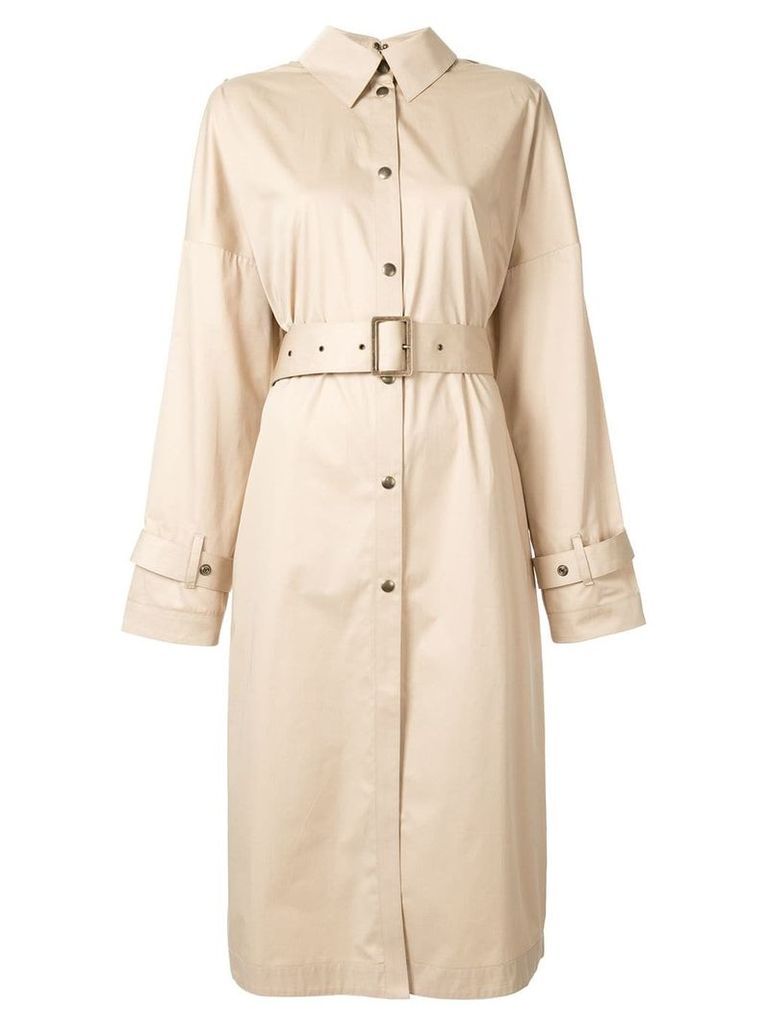Boyarovskaya belted trench coat - Brown