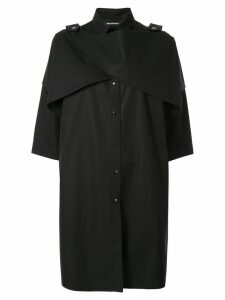 Boyarovskaya oversized shirt dress - Black
