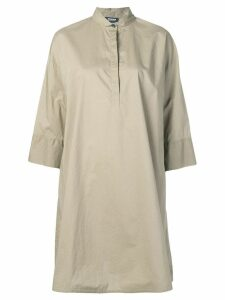 Woolrich oversized shirt dress - Green