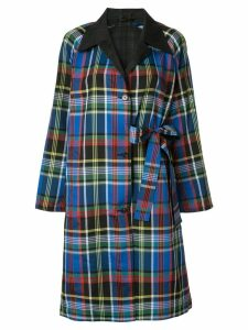 Ports 1961 side-tie coat - Multicolour
